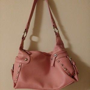 Pink st John's bay handbag